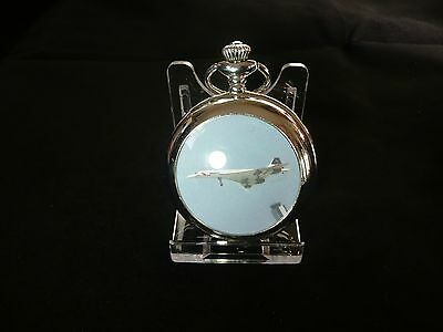 Acrylic pocket watch display stand .