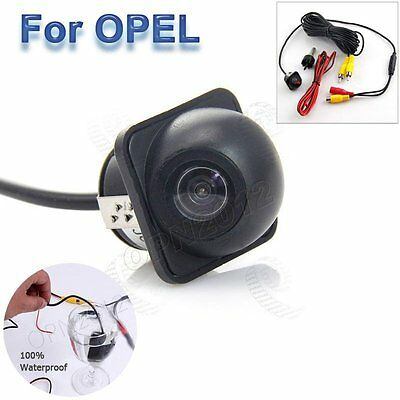 Waterproof NTSC CCD HD Vision Camera Webcam Car Reverse Parking Backoff For Opel