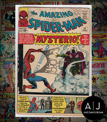 The Amazing Spider-Man #13 (Marvel) GD+! HIGH RES SCANS!
