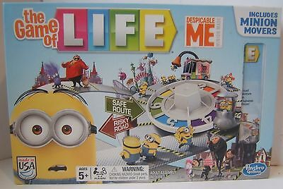 Despicable Me The Game of Life Includes Minion Movers Complete