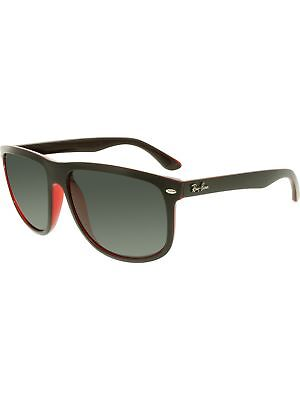 Ray-Ban Women's RB4147 RB4147-617187-60 Black Square Sunglasses