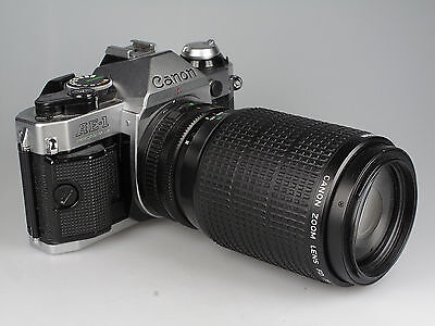 Canon AE 1 Programm + Canon Zoom Lens FD 4,5 / 75 - 200 mm 80711