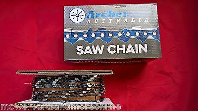 Genuine Archer Chromed 3/8 Full Chisel Chainsaw Chain 25 Foot And 100 Foot Roll