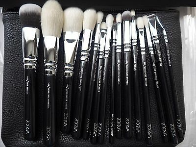 ZOEVA Luxe GERMANY Authentic  Makeup Complete brush Set 15pcs + Clutch RRP £110