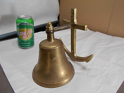 Vintage 1993  BELL    Brass Nautical Marine Ship Boat, Chris Craft, Dinner Bell