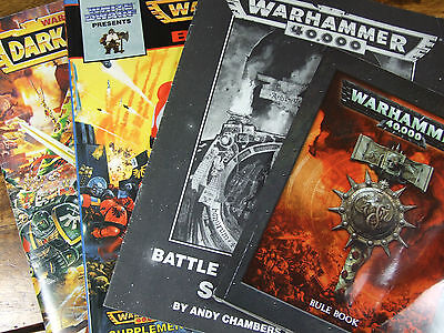 Alte 40K Warhammer Regelwerke Und Supplements Multi Variation