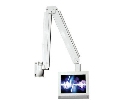 """BT7593 Hospital Bed Style TV Mounting Arm, Ideal For TVs & Monitors to 23"""" & 8kg"""