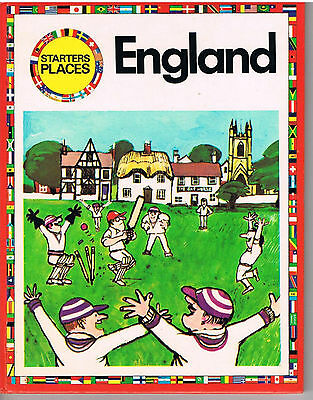 Starters Places 7, England - S Oram & G Dickinson - Macdonald Educational 1972