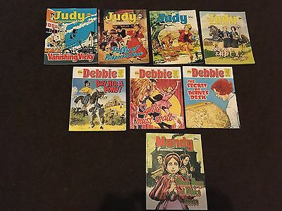 Judy, Debbie, Mandy picture story library comics