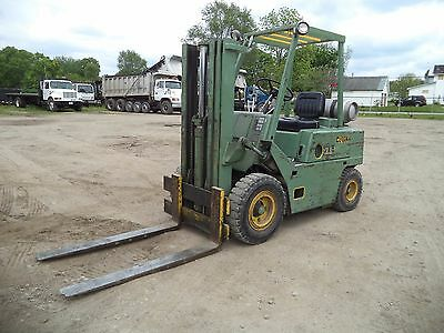 Clark Model C500Y50, 5,000# 5000# Pneumatic Tired Forklift