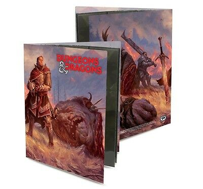 Ultra Pro Character Folio GIANT KILLER Dungeons & Dragons f.36 Spell Cards OVP
