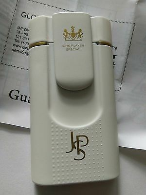 NEW LIGHTERS White PROMOTIONAL JOHN PLAYER SPECIAL JPS +guarantee card