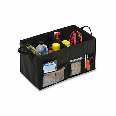 Honey-Can-Do SFT-01166 Soft Storage Chest Black Folding Trunk Organizer