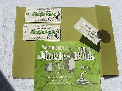 1967 Walt Disney's Jungle Book giveaway packages at Grauman's Chinese Theatre