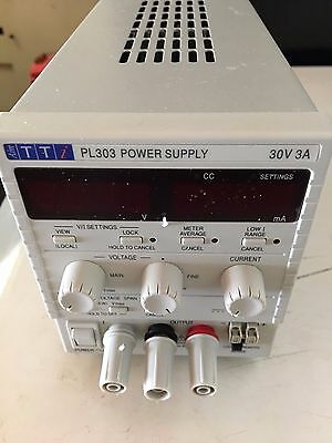 Used TTi PL303 High Precision DC Power Supply with Certified in Feb 2016,
