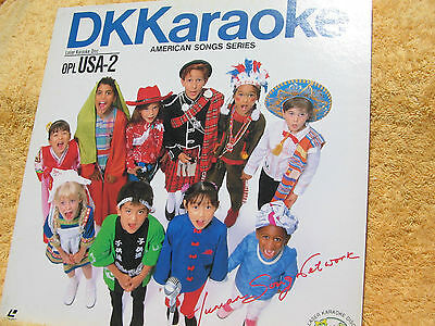 DK Karaoke American Songs Series Laser Karaoke Disc 30 Songs
