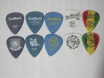 5-The Expendables Geoff and Raul Guitar pick LOT