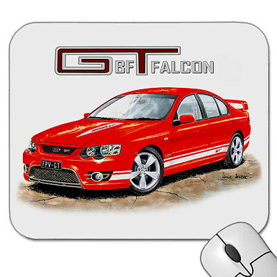 Ford  Bf  Gt  Falcon    Fpv  V8      Mouse Pad