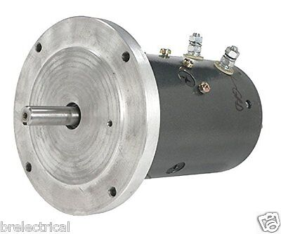 New Heavy Duty Winch Motor For Anchor Lifts & Lobster Pot Haulers Dbl Ball Brg