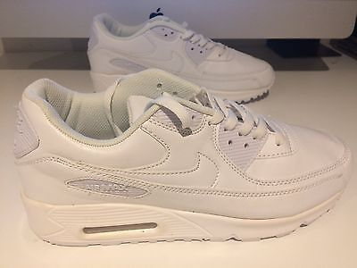Men's all white Trainers Size 11 BRAND NEW