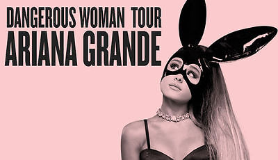 ARIANA GRANDE Early Entry 'ARIANATOR' Concert Ticket MELBOURNE Mon 4th Sep 2017