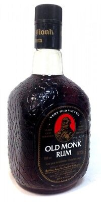 Old Monk Rum - 7 Years Old | brauner indischer Rum | 42,8% Alc. | 750 ml