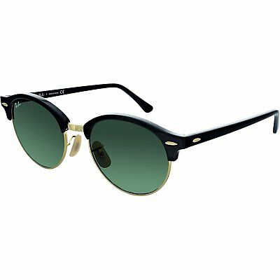 Ray-Ban Men's Clubround RB4246-901-51 Green Round Sunglasses