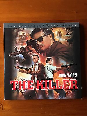 The Killer - Laserdisc - Criterion Collection - John Woo - 3 Disc Set - Rare