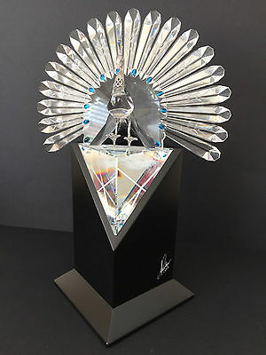 Swarovski Peacock Limited Edition 1998 Certified - One Of Only 10000 Worldwide