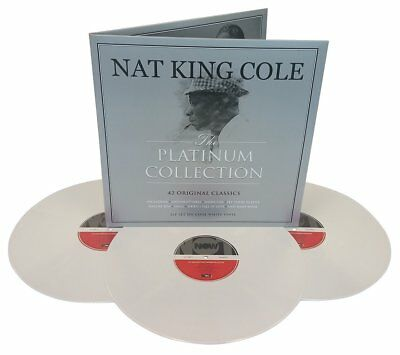 Nat King Cole - The Platinum Collection (3LP On 180g White Vinyl)  NEW/SEALED