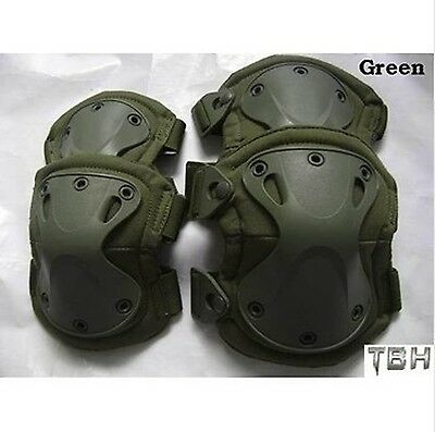 2017new Tactical paintball protection  knee pads & elbow pads set Free shipping