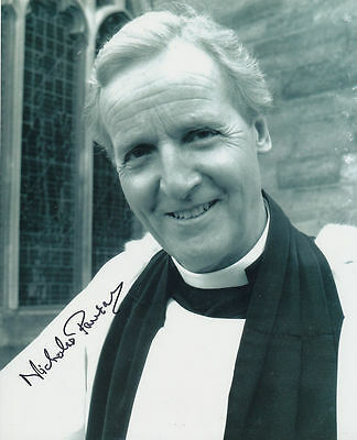 Nicholas Parsons In Person Signed Photo - Doctor Who - AG6