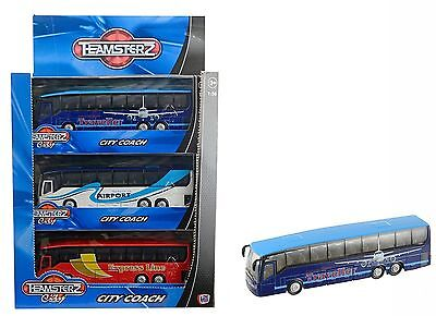 Teamsterz City Coach Bus Toy model Vehicle Ride a City coach 1:50 Scale | New.