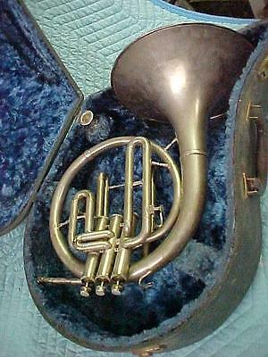 Vintage Holton Collegate Eb/F Mellophone, Very Good Playing Condition