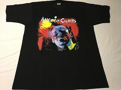Vtg 1990 Alice In Chains Facelift Concert Tour Promo Shirt Xl Deadstock