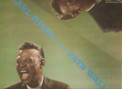 EARL HINES plays FATS WALLER - ORIGINAL FRANZÖSISCHE PRESSUNG - RAR !!!!
