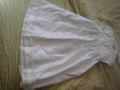 Brand New Christening baby Dress with pants age 6-9 months from george