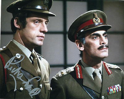 Richard Franklin In Person Signed Photo - Doctor Who - AG27