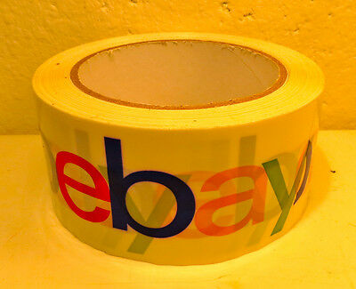 Official eBay Brand Logo Packing Tape 1 ROLL BOPP 75 Yards Packaging Shipping