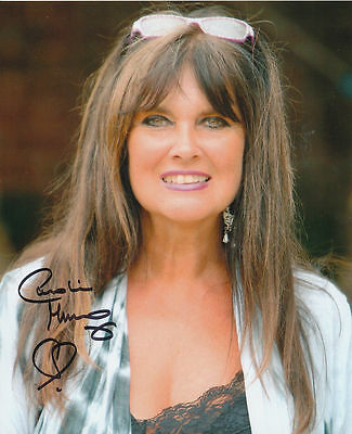 Caroline Munro In Person Signed Photo - BEAUTIFUL!!!!! - AG36