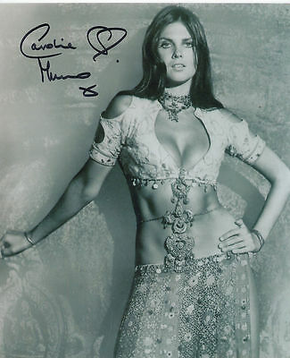 Caroline Munro In Person Signed Photo - The Golden Voyage of Sinbad - AG32