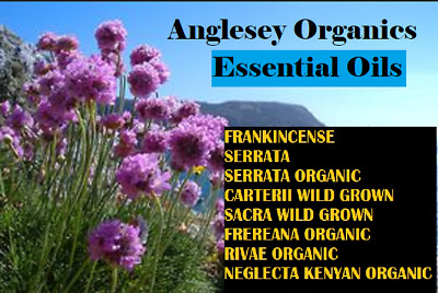 10ml Frankincense Essential Oil: 8 different types including 4 Organic  Oils