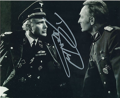 Derren Nesbitt In Person Signed Photo - Where Eagles Dare - AG50