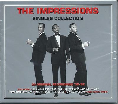 The Impressions - Singles Collection [Greatest Hits/Best Of] (2CD) NEW/SEALED