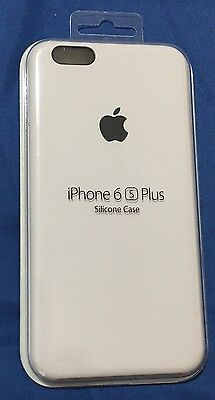 Brand New Apple Silicone Case for iPhone 6s Plus / 6 Plus - White