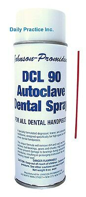 Johnson-Promident DCL 90 Handpiece Lubricant & Cleaner Spray 8oz MFG#: L-DCL