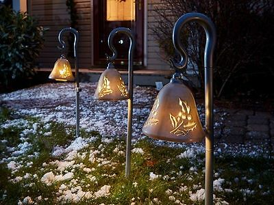 Mr. Christmas Silver Bells Musical Pathway LED Lights - NEW