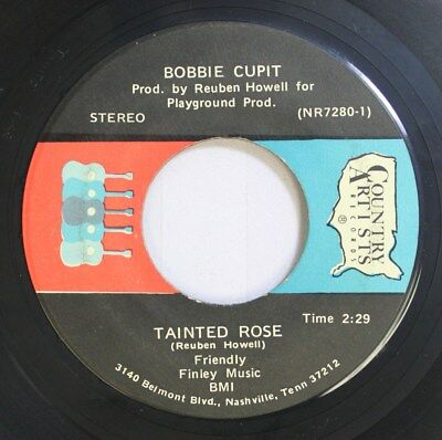Country 45 Bobbie Cupit - Tainted Rose / Just Call Me Darling On Country Artists