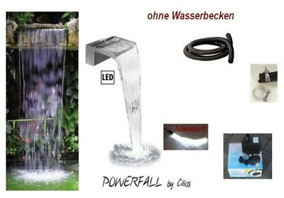 Powerfall Waterfall Kit Eco 45cm LED fully wired - Drop height approx. 1,50 m