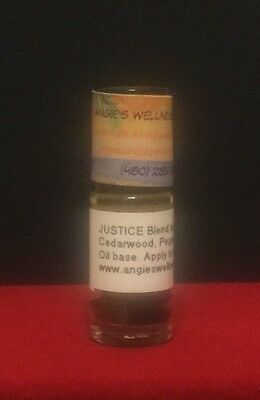 JUSTICE BLEND doTERRA Aromatherapy Blend Reiki Infinite Law Righteousness